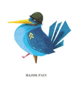militery bird